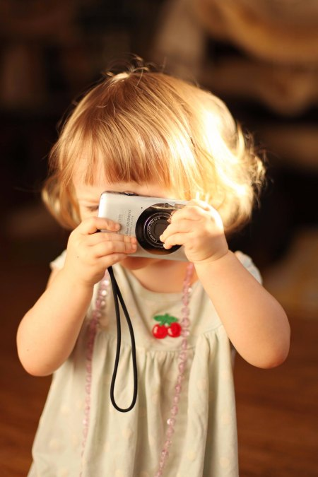aya with camera